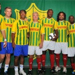 Casagrande, Landreau, Pat, Deschamps, Desailly, Karembeu et Makélélé