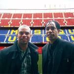 William et Patrice Loko au Nou Camp - Barcelone 2009