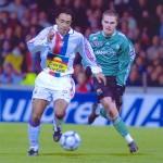 Coupe de France 2001 face à l'A.S.S.E. (Photo : Arthur Hagopian - OL)