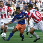 Montpellier / Etoile Rouge de Belgrade, UEFA 1999 (Photo D.R.)