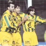 Nantes / Lille vu par Chenez dans l'Equipe - janvier 1995