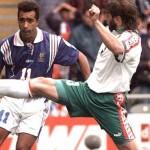 France / Bulgarie, face à T. Ivanov - Euro 96