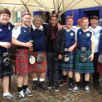 Avec les supporters écossais - 4/06/2016