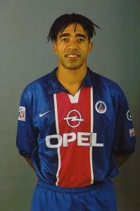 Photo officielle du PSG 1998/1999 (Photo : Ch. Gavelle - PSG)